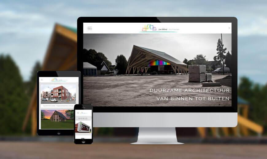 Webdesign voor Architectenbureau Musselkanaal