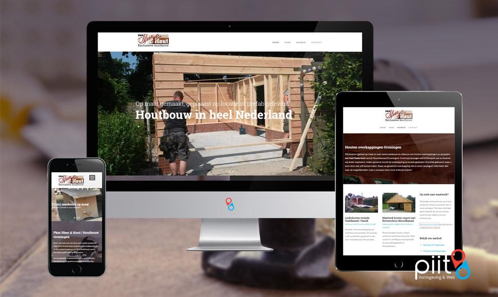 Webdesign voor Houtbedrijf Musselkanaal